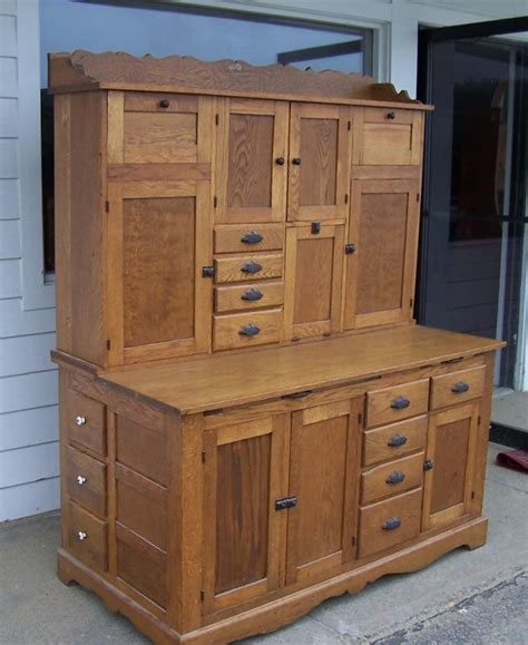 antique hoosier kitchen cabinet antique oak hoosier kitchen baker s cabinet general