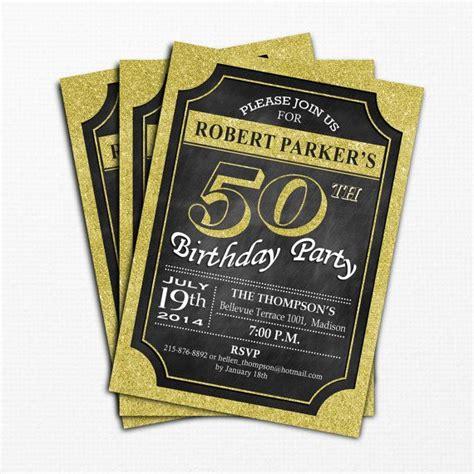 50th Birthday Invitation / 30th / 40th / by