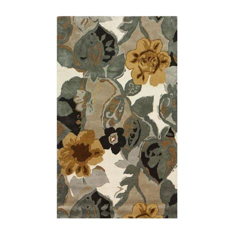 collection area rugs home decorators collection balcony nickel 9 ft 9 in x 13 ft 9 in area rug 0110740220 the