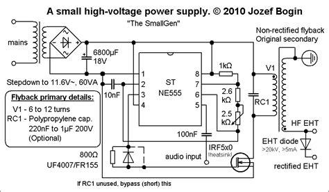 dual transistor flyback driver tutorial fontes chaveadas p 225 3 eletr 244 nica clube do hardware
