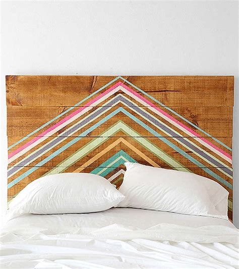 painted wood headboards diy headboard project ideas the idea room