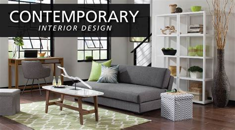 interior design style guide contemporary furniture