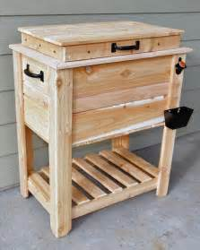 rustic cedar fence picket deck porch cooler icebox by scooter mcclain lumberjocks com