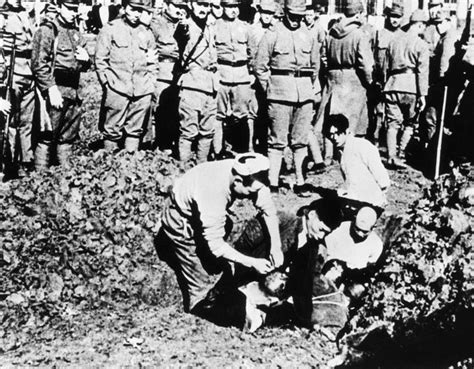 buried alive mass killings of pows and civilians by tito s partisans books the nanjing from a hideous slaughter 75