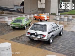1971 amc gremlin x 1973 chevrolet gt 1972 ford pinto