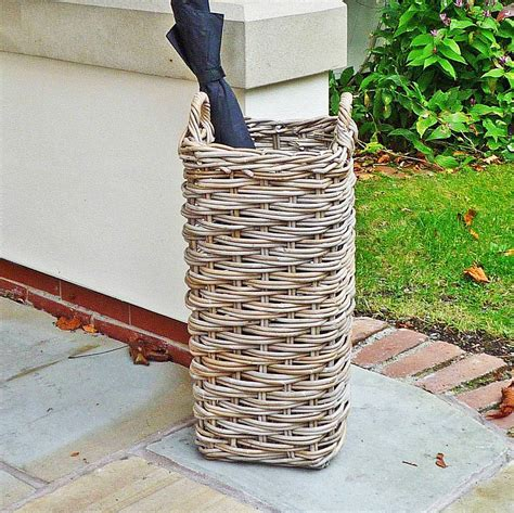 Willow Pattern Umbrella Stand | willow umbrella basket stand by marquis dawe