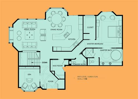 autocad 2d home plans graphic design courses