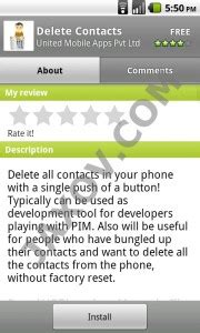 how to delete contacts on android how to delete all contacts from android phone at once