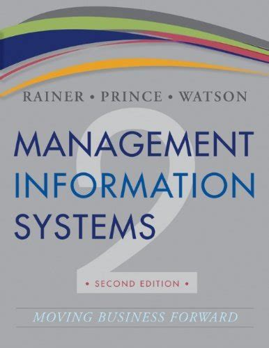 It Systems Management 2nd Edition management information systems rainer 2nd edition test bank