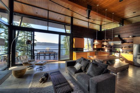 property s morning obsession exquisite modern log cabin