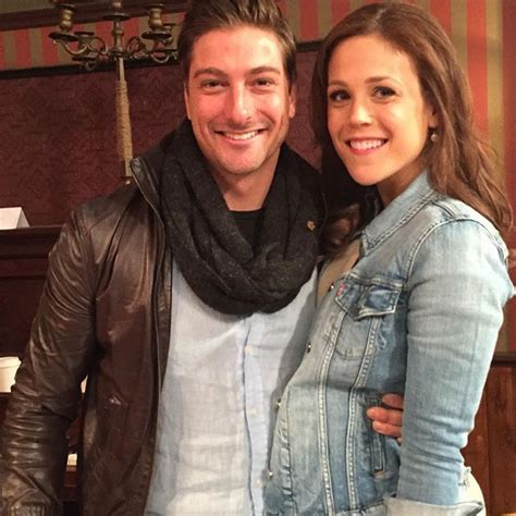 daniel and erin fans daniel lissing and erin krakow when calls the hearties