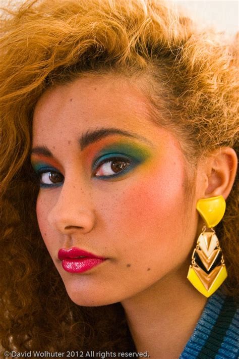 hairstyles and makeup from the 80s back to the eighties