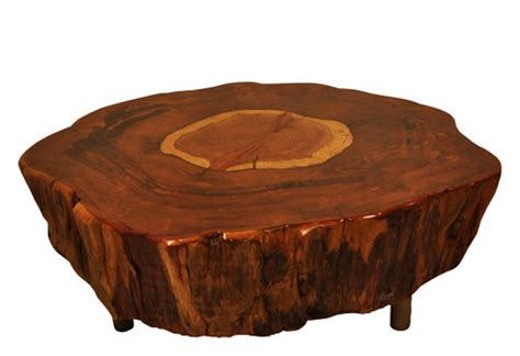Tree Stump Coffee Table Tree Stump Side Table Brings Nature Fragment Into Your Interior Homesfeed