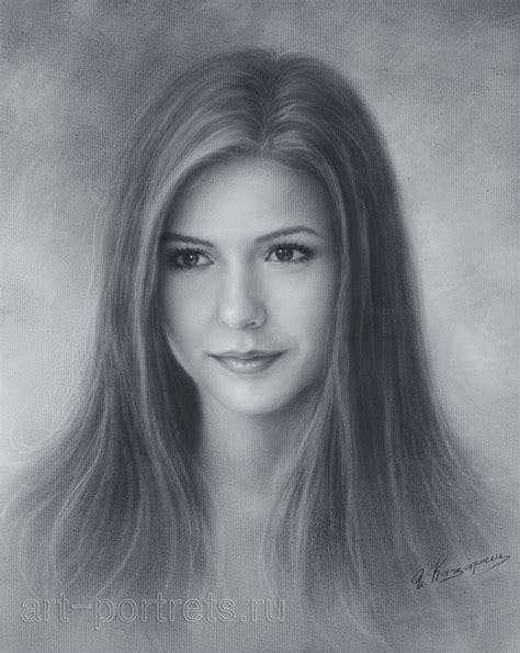 Portrait Drawers dobrev drawing by brush 2016