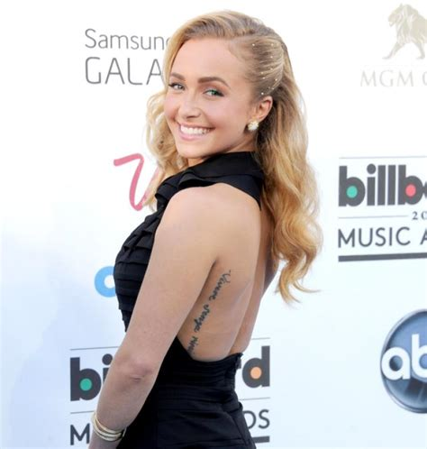hayden panettiere tattoo hayden panettiere gets misspelled removed ny