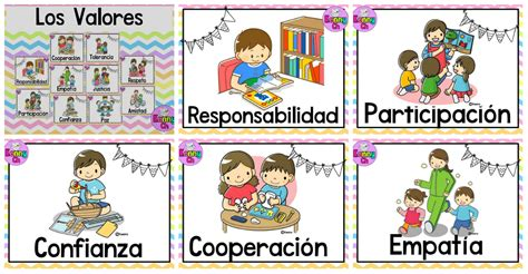 imagenes educativas libres tarjetas imprimibles para trabajar los valores ideales