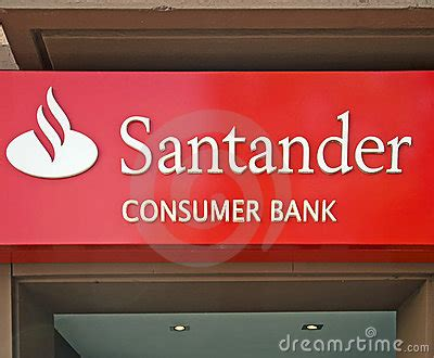 Banco Santander Editorial Image Image 21866780
