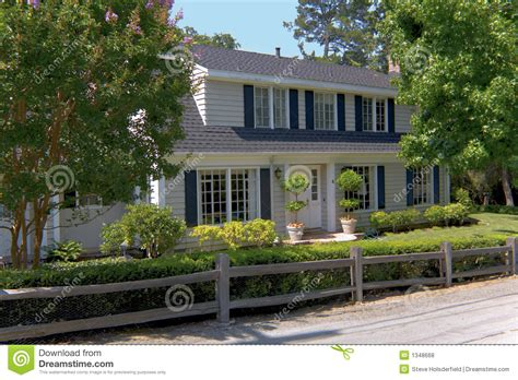 traditional 2 story house traditional two story home royalty free stock photos image 1348668