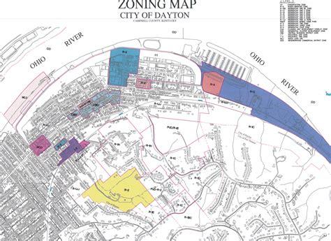 City Of Zoning Search Zoning Map City Of Dayton Kentucky