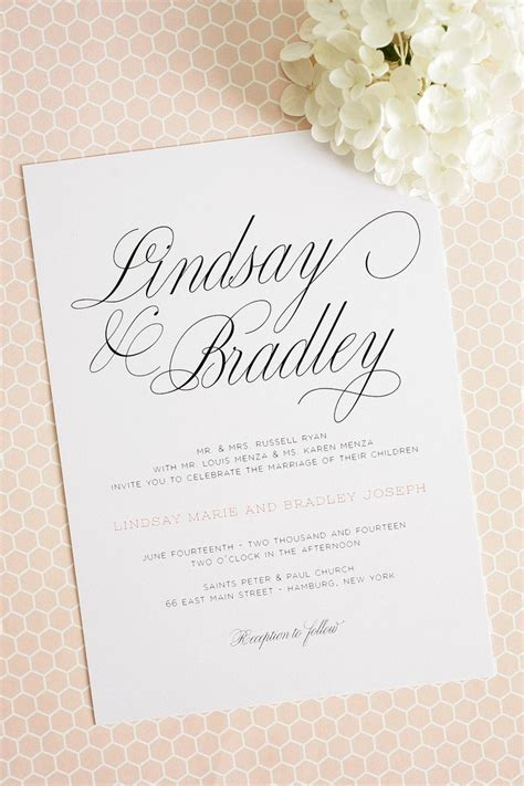25  Best Ideas about Simple Wedding Invitations on