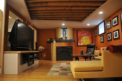 low ceiling basement home interior ekterior ideas