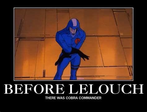 Cobra Commander Meme - cobra geass commander of the rebellion by doomslicer on
