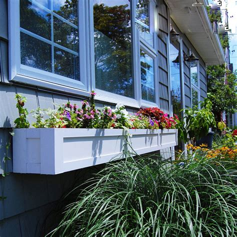 self watering window box solera self watering window box planters