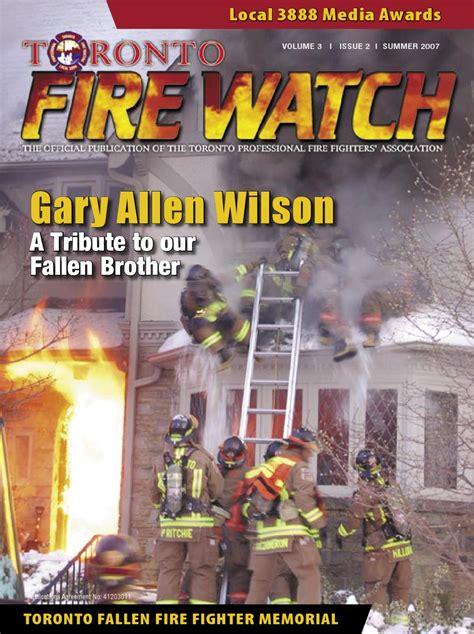 fallen film port fire watch summer 2007 by toronto professional fire