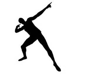 Comic Wall Stickers usain bolt athlete signature logo s pinterest usain bolt