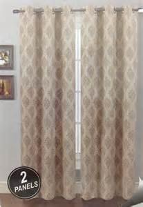 Piece grommet panel printed window curtain luxury faux linen drapes