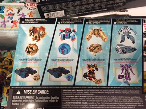 Minicon Retail robots in disguise 2015 minicon 4 pack released at us retail transformers news tfw2005