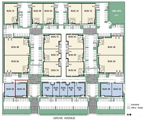 10 Park Blvd Floor Plan by Ontario Ca Flex Warehouse Building For Sale Nai Capital