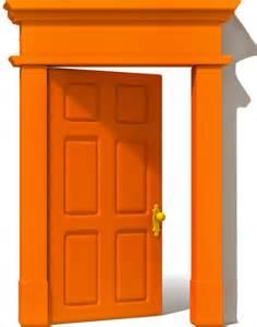 osu alumni association members opening orange doors