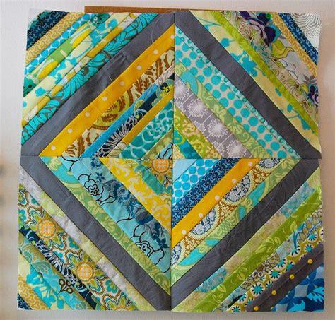 String Pieced Quilt Blocks by String Quilt Block Quilting