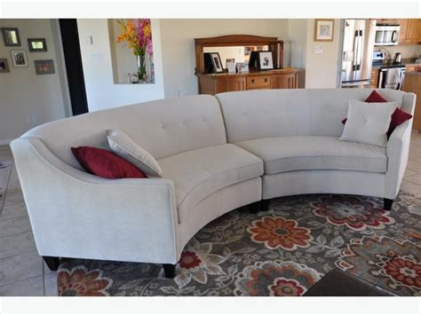 curved outdoor sectional canada curved sectional sofa canada infosofa co