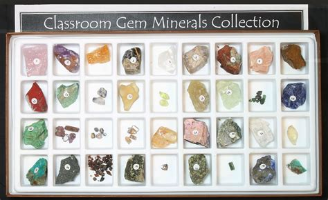 gemstone mineral kit gem mineral collection