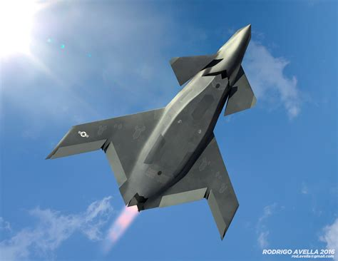 grumman will show off its sixth generation stealth jet sixth generation fighter by rodrigoavella on deviantart