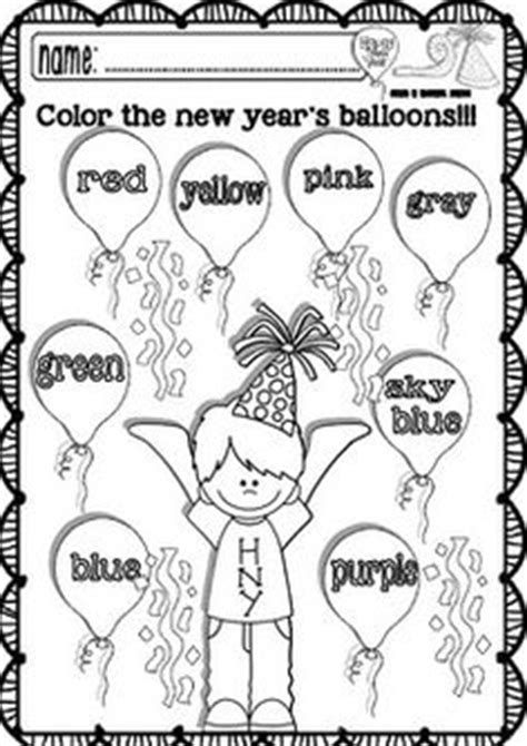 new year for preschoolers worksheets for kindergarten happy new year and worksheets