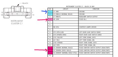 chrysler stereo wiring diagram wiring diagram