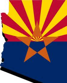 of arizona colors state of arizona flag map clipart clipartfest