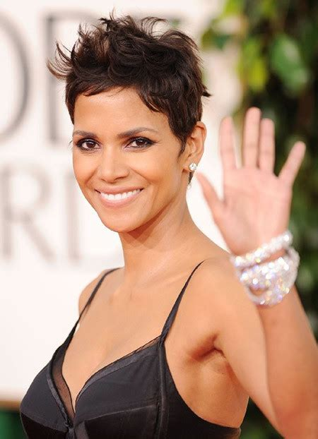 how to cut hair to look like halle berry 2016 layered hairstyle ideas from celebrities haircuts