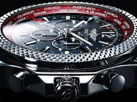 La montre Breitling Bentley GMT V8 : une montre de luxe collector.   Viaprestige Lifestyle