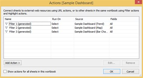 tableau tutorial actions tableau 201 3 creative ways to use dashboard actions