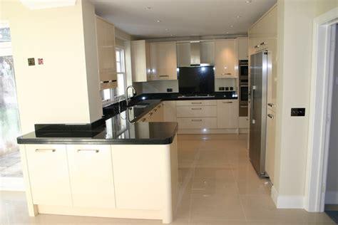 Modern Bathroom Floor Tile Ideas by Kitchen Case Study Surrey Blok Designs Ltd