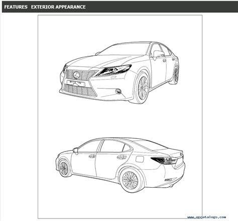 car service manuals pdf 1995 lexus es interior lighting lexus es250 es350 service manual 06 2012 06 2015 download