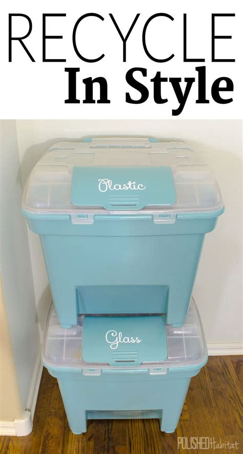 kitchen recycling center best 25 recycling bins ideas on pinterest recycling