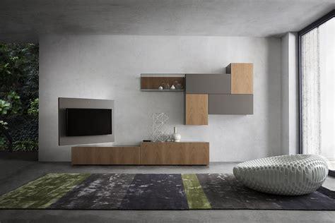 soggiorno parete attrezzata moderna parete attrezzata moderna in ciliegio 700 napol arredamenti