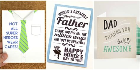 how to make a fathers day card 10 free printable s day cards