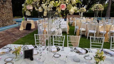 decorar mesas de jardin df decoracion para boda en jardin youtube