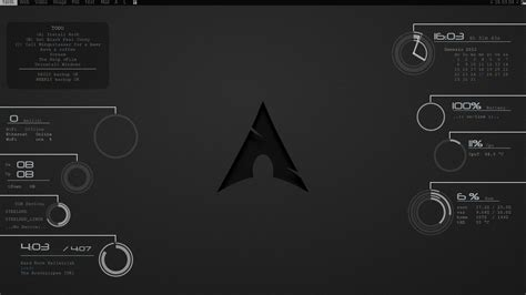 kali linux conky themes black pearl conky by ninquitassar on deviantart